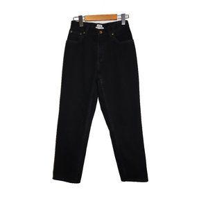 LL Bean Original Relaxed Fit Black Denim Jeans